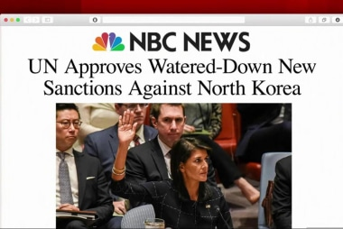 Are the latest sanctions on North Korea...