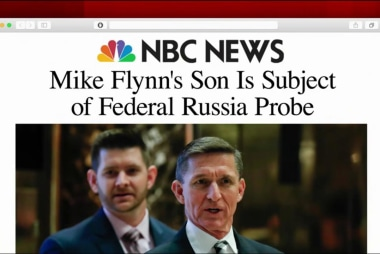 Flynn's son subject of Russia probe: report
