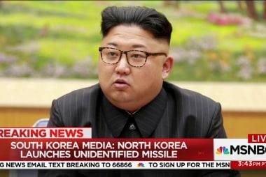 South Korea media: North Korea launches...