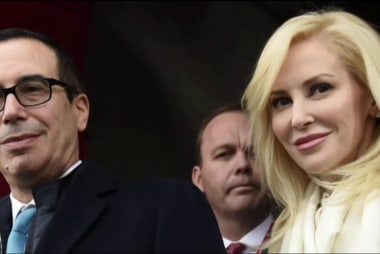 Mnuchin defends seeking government plane...
