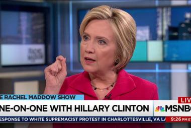 Clinton: Putin wants to destabilize democracy