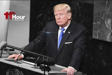 Trump's UN speech completely devoid of...