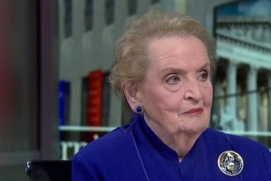 Albright: The tone of Trump's speech was ...