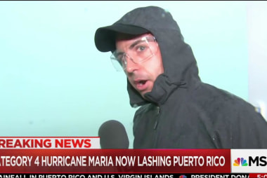 Deadly hurricane bears down on Puerto Rico