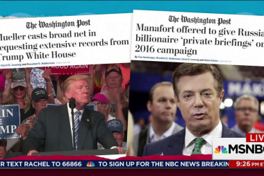 Manafort sought to exploit his campaign role