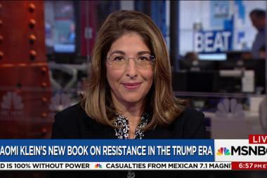 "Naomi Klein: Trump's brand is ""impunity..."