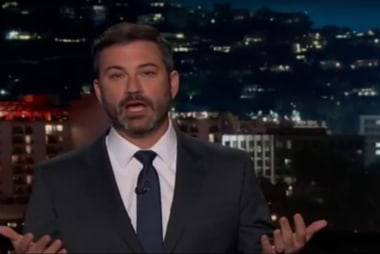 Kimmel: these guys won't tell the truth so...