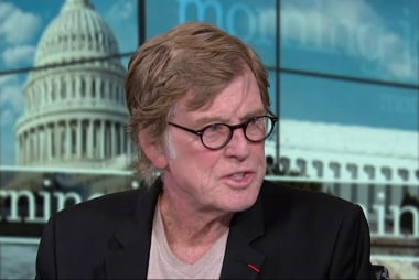 Redford: I hope Americans start to pay...