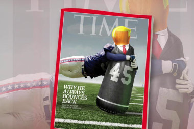 Trump always bounces back, says Time Magazine