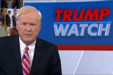 Matthews: Trump says he had vote to end...