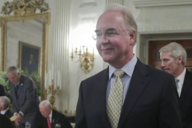 Tom Price's private flights cost taxpayers...