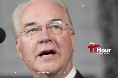 Michael Steele: Tom Price's pricey jet...