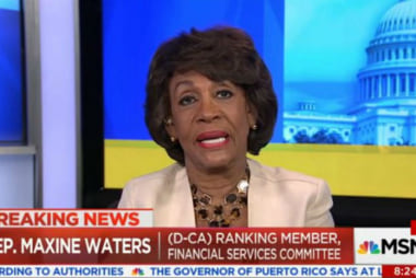 Waters: Trump is 'the most deplorable person'