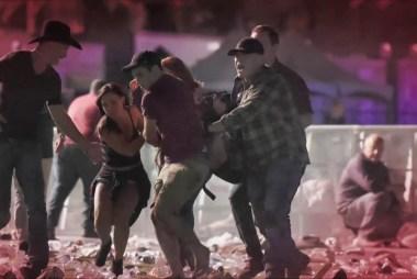 In Las Vegas, the deadliest mass shooting...