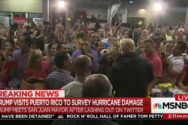 Why did Trump really go to Puerto Rico?