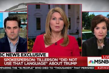 'Trump & Tillerson have not been a good...