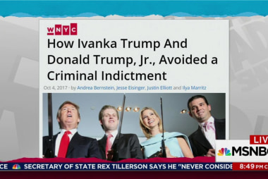 Emails show Ivanka, Trump Jr. planning lies