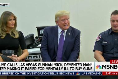 Trump law helps mentally ill get guns