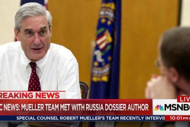 Mueller team interviews Trump dossier author