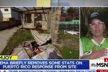 Hurricane aftermath crisis continues in...