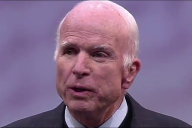 John McCain delivers 'incredible moment'...