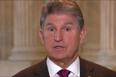 Manchin to Trump: Please, find another...