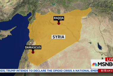 U.S. backed Syrian forces push ISIS out of...