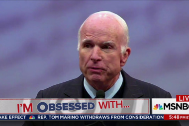 Chuck: 'Really Listen to What McCain is...