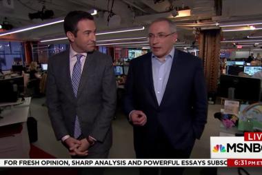 MSNBC: Exiled Putin Rival Ties Kushner...