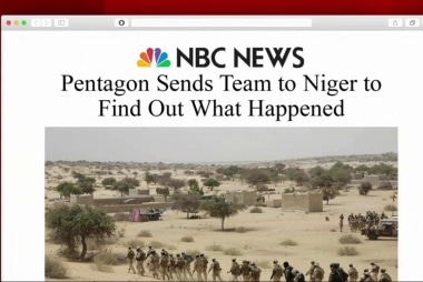 Pentagon sends team to Niger to learn what...