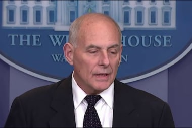 John Kelly's 'powerful' speech hit at...