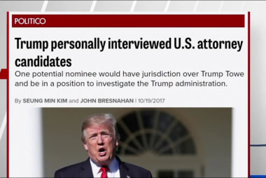 Politico: Trump interviewed US Attorney...