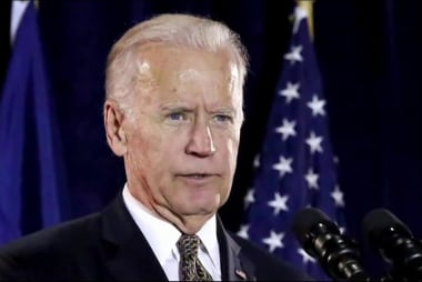 In interview, Biden reacts to Trump and...