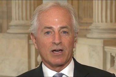 Corker: My relationship with Trump is not...