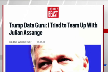 Daily Beast: Trump Data Guru reached out...