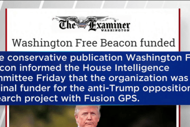 Free Beacon the original funder of Trump...