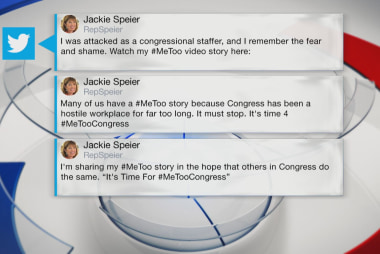 Rep. Speier shares story of sexual...