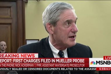 First charges filed in Mueller Russia...