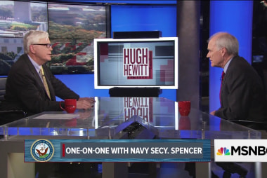 One on one with Navy Secretary Richard...
