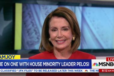 Nancy Pelosi: 'President is the Deflector...