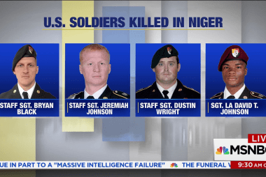 Rep. Marc Veasey probes Niger raid, Sgt....