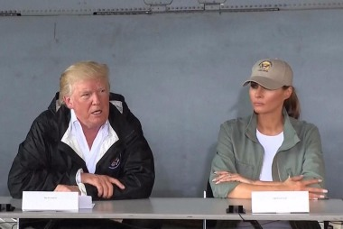 Trump Compares Hurricane Death Tolls