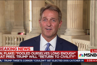 Flake: Character Still Counts in Politics