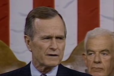 How Bush 41 calmed international tensions...