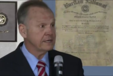 Are women in Alabama standing by Moore?