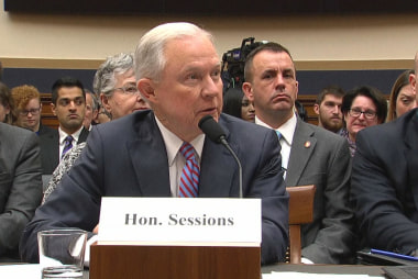 Sessions faces massive pressure to go...