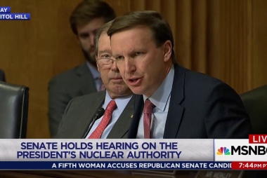 Senators worry about Trump and nuclear...