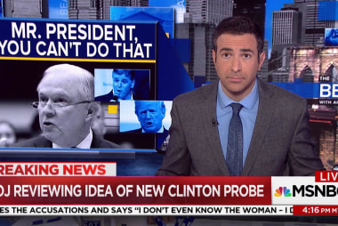 Melber: Is Jeff Sessions violating recusal...
