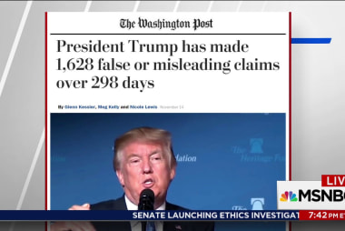 WaPo: Trump has made over 1500 misleading...