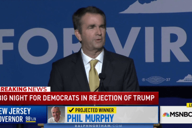 Northam wins Virginia, Murphy wins New Jersey
